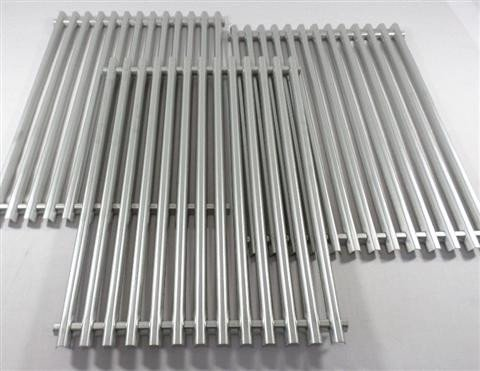 BBQ Grill Weber Grill 3 Piece Stainless Steel ''Channel Formed'' Cooking Grates 17-1/4'' x 35-1/4'' BCP85312 OEM