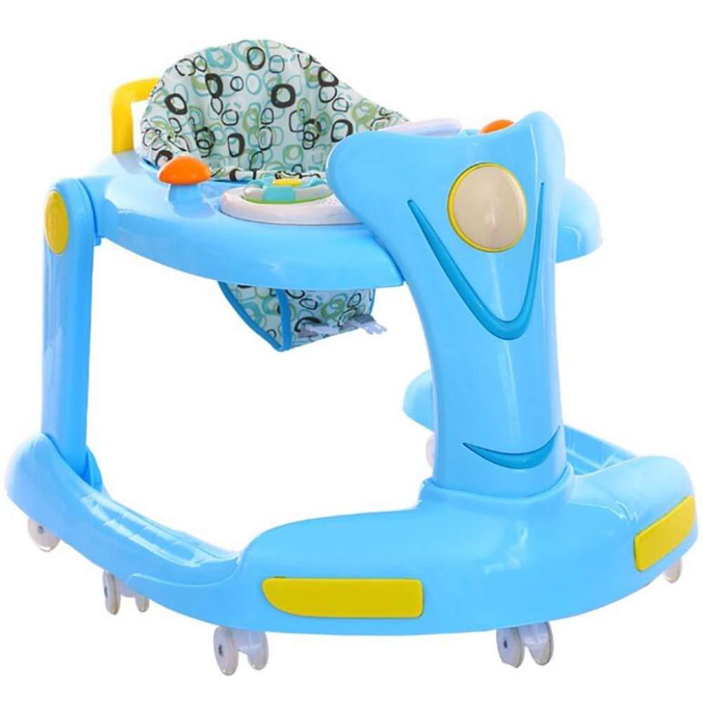 ZLMI Bebé Andador Multifuncional Plegable Scooter Música ...