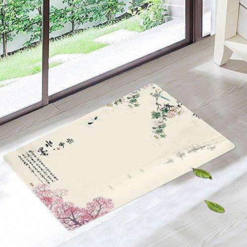 Tkopainsde Das Pad Oberflächenwellen Matten Wc Badematte Teppich Auf Der Haushalte Tür Matte, 400 X 1200 Mm 2 B076HM5BHM Duschmatten