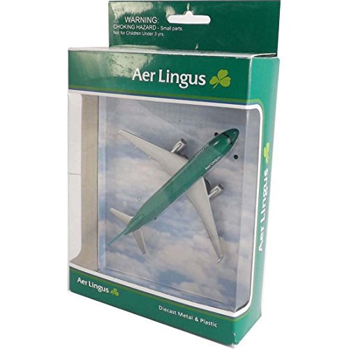 Diecast Models Of Ireland AL76340 Aer Lingus Boeing A330 Diecast Toy Plane by Irish Decal
