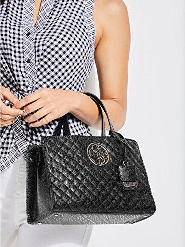Bla de GUESS Black Shoppers y Gioia bolsos hombro Negro Mujer IZISzgRwxq