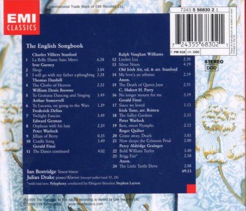 Ian Bostridge - The English Songbook by EMI Europe Generic