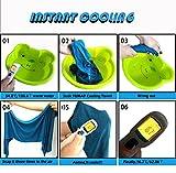 Yumay Microfibre Gym Towel, 100X30CM Golf Ice