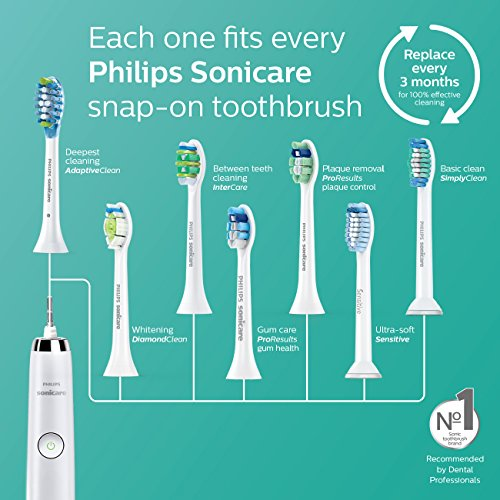 Philips Sonicare DiamondClean Sonic Electric Rechargeable Toothbrush, Black, HX9352/04