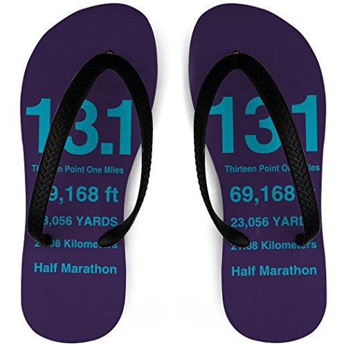 Flip Flops De Course 13.1 Miles Mathématiques Violet