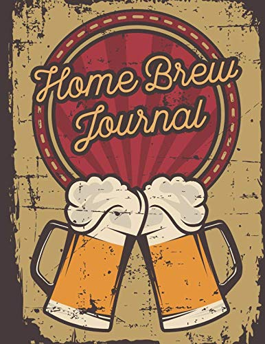 Home Brew Journal: Homebrew Log Book | Beer Brewing Journal | Beer Making Recipe Guide by Pink Willow Print
