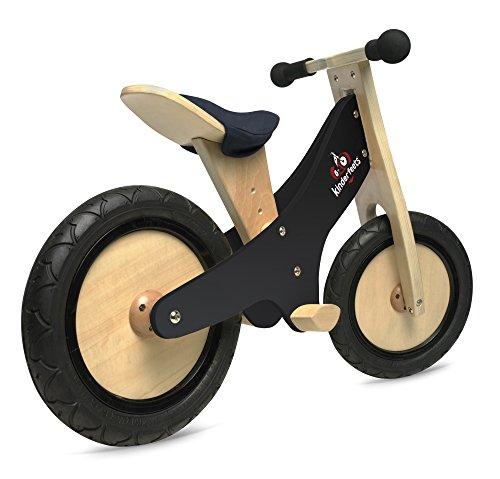 Find a Kinderfeets Chalkboard Wooden Balance Bike, Classic Kids Training No Pedal Balance Bike, Black
