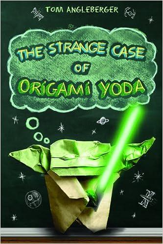 The Strange Case of the Origami Yoda book cover