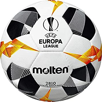 MOLTEN UEFA Europa League 2810 - Balón de fútbol: Amazon.es ...