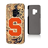 Keyscaper NCAA Syracuse Orange Samsung Galaxy S9 Bamboo Case, Wood