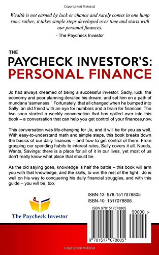 The Paycheck Investor's: Personal Finance: The Story of a Dreamer ...