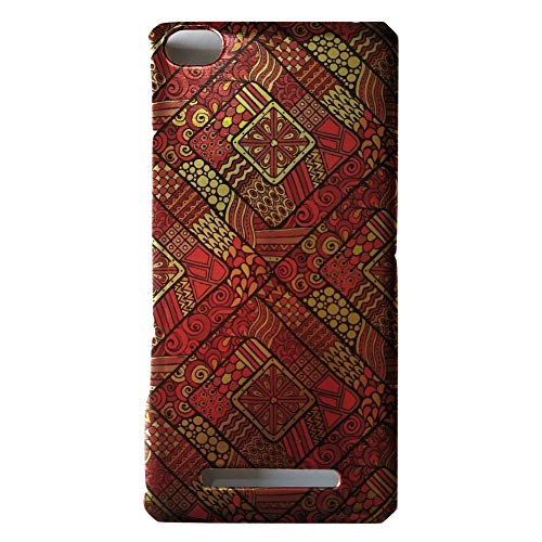 Golden Design Printed Hard Plastic Xiaomi Redmi Mi 4i Back Cover   Design 6