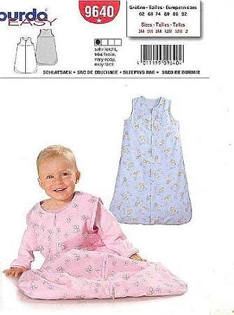 Burda Schnittmuster 9640 Schlafsack Gr. 62-92: Amazon.de: Küche ...