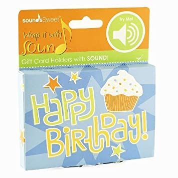 Amazon Gift Card Impressions Happy Birthday Sound