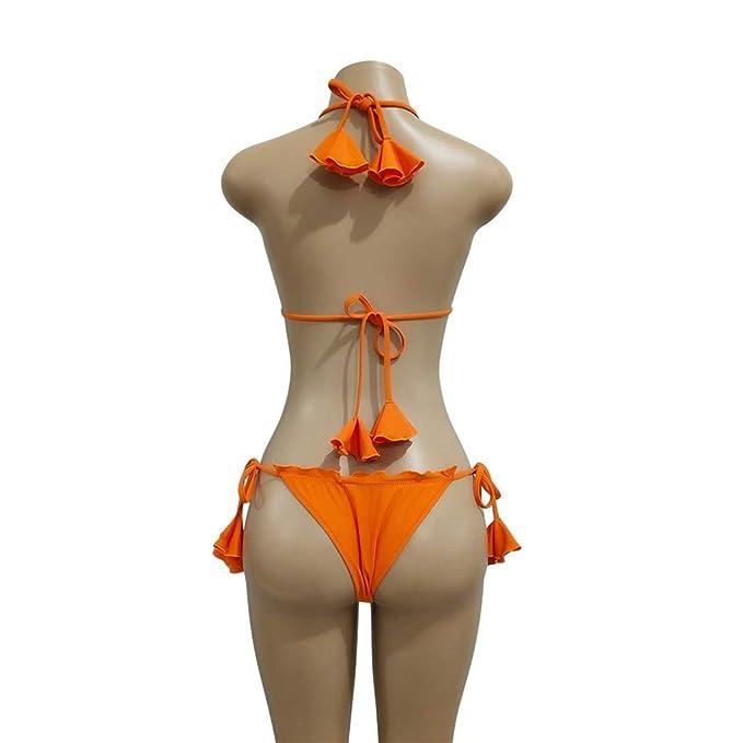 VECDY Bikini Sexy para Mujer Conjunto De Trajes De Baño con Estampado Push-Up Traje De Baño Acolchado: Amazon.es: Ropa y accesorios