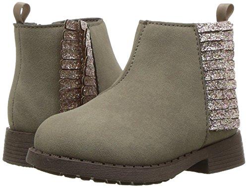 OshKosh B'Gosh Girls' Alice Fringe Ankle Boot, Taupe, 12 M US Little Kid by OshKosh B'Gosh (Image #6)