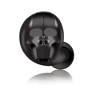 Docooler SK-20 Auriculares Inalámbricos Bluetooth Cool In-Ear Auriculares Invisibles a Prueba de Salpicaduras Auriculares Estéreo de Música Auricular Manos ...