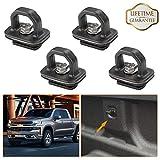 KIWI MASTER Tie Down Anchor Truck Bed Anchors Compatible for 07-18 Chevy Silverdo/GMC Sierra,15-18 Chevy Colorado/GMC Canyon