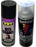 VHT Nite Shades - Black Out Taillight Spray & Clear Coat Bundle