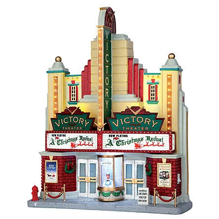 LEMAX COLLECTION CHRISTMAS VILLAGE VICTORY THEATER