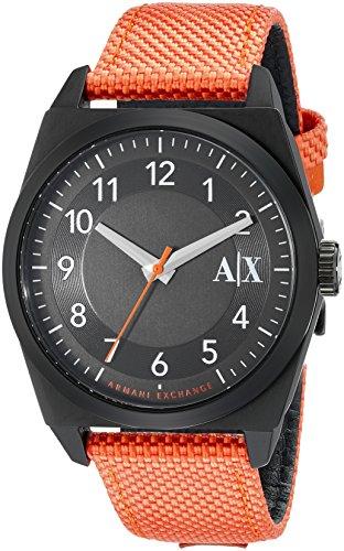 Armani Exchange Men's AX2305 Analog Display Analog Quartz Orange Watch