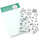 Hello Spring Clear Stamp Set 4x6 Inches