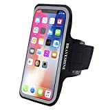 BRAVESHINE Sport Exercise Gym Running Armband-Sweat Water Resistant Cell Phone Armband for iPhone