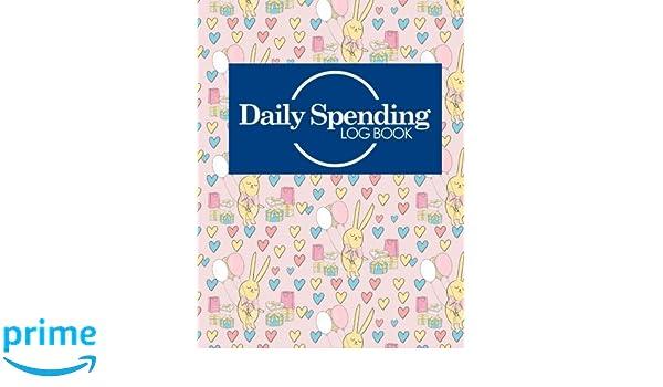 daily spending log book business expense book expense log book for
