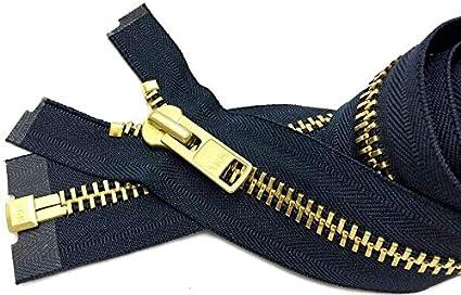 1 Zipper//pack YKK #10 Extra Heavy Duty Aluminum Separating ~ Color 560 Navy Special Custom Sale 29\ Chaps Zipper