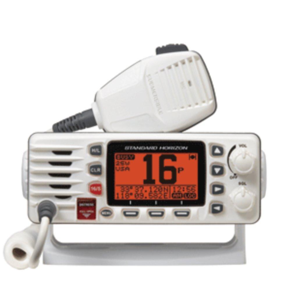 Standard Horizon GX1300W Eclipse Ultra Compact Fixed Mount VHF - White - 1 Year Direct Manufacturer Warranty
