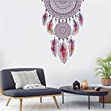 Cheap Wall Sticker, Staron DIY Dream Catcher Wall Decor Sticker Vinyl Art Decals Removable Wall Sticker Decorations for Bedroom Living Room (Dream Catcher❤️)