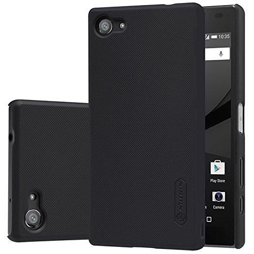 new arrivals f4f5e 58194 Sony Xperia Z5 compact / mini case, KuGi ® High quality ultra-thin PC Hard  Case Cover for Sony Xperia Z5 compact / mini smartphone. (Black)