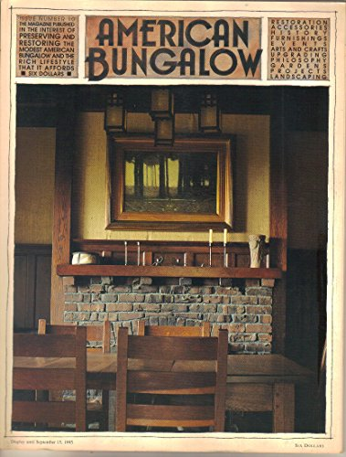 Bungalow Home Office - American Bungalow Magazine, 1995 (Issue No 10)
