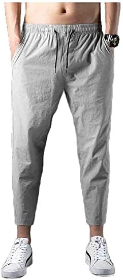 VITryst Men's Loose Athletic Fit Summer Relaxed Fit Thin Drawstring Sweatpant