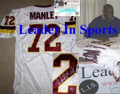 the best attitude ba224 867b7 Dexter Manley Autographed Jersey - Washington Redskins at ...
