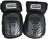 Crafted Everest Professional Knee Pads - Durable Foam Padding and Comfortable Gel Cushion - Adjustable Velcro Straps with Thigh Support Designed to Prevent Slipping – Heavy Duty Protection