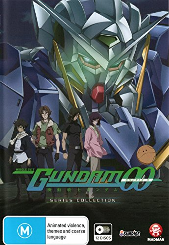 Mobile Suit Gundam 00 Series Collection | 12 Discs | Anime & Manga | NON-USA Format | PAL | Region 4 Import - Australia -