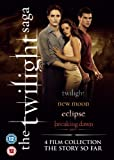 The Twilight Saga Collection - 4-DVD Box Set ( Twilight / The Twilight Saga: New Moon / The Twilight Saga: Eclipse / The Twilight Saga: Breaking Dawn - Part 1 ) ( Twilight / Twilig [ NON-USA FORMAT, PAL, Reg.2 Import - United Kingdom ]