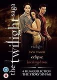 The Twilight Saga Collection - 4-DVD Box Set ( Twilight / The Twilight Saga: New Moon / The Twilight Saga: Eclipse / The Twilight Saga: Breaking Dawn - Part 1 ) ( Twilight / Twilig [ NON-USA FORMAT, PAL, Reg.2 Import - United Kingdom ]