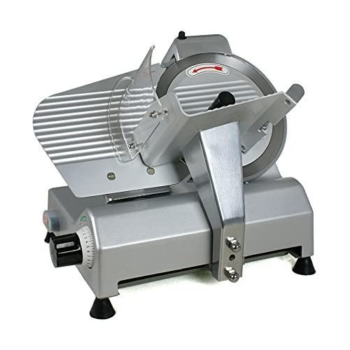 """Pro 10"""" Blade Electric Meat Slicer 240w 530RPM"""