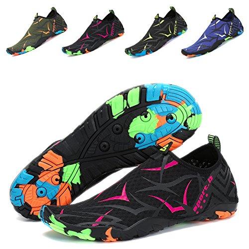 Beach Barefoot Skin PENGCHENG Yoga Walking Water Driving Socks Dry Shoes Shoes Lake Quick Boating Beach Men Swim For Black r Women Surf Park Aqua Swim rwcI0qIa8x