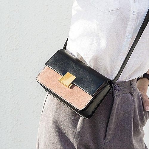 Dasexy Shoulder Quadrata Pu Elegante Shoppi Totes Nero A Piccola Borsa In Scamosciata Fashion Crossbody Pelle Confezione Tracolla Bags Purse Irxqr17w