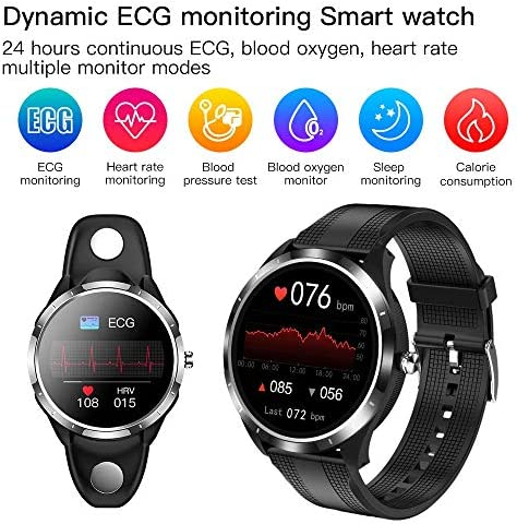SPOREX EG4 Health Focused Smart Watch, Heart Rate & Blood Pressure Monitor, Fitness Tracker, Blood Oxygen Meter; Smartwatch for Android phones and iPhone Compatible; HD Touch Screen, Waterproof; Sport 3