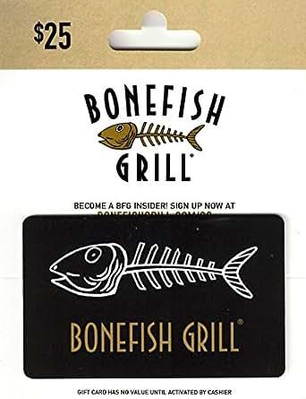 Amazon.com: Tarjeta de regalo de Bonefish Grill: Tarjetas de ...