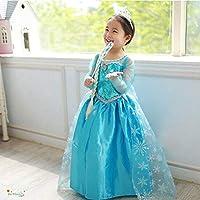 3-4 Yaş Kız Karlar Ülkesi Elsa Kostüm
