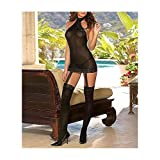 Dreamgirl Women's Moscow Sheer Dress
