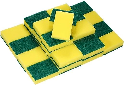 30 Pack Multi-use exfoliante de alto rendimiento de esponja, extra fina Magic esponjas de limpieza, goma de borrar Esponja para cocina Muebles Auto baño acero piel: Amazon.es: Salud y cuidado personal
