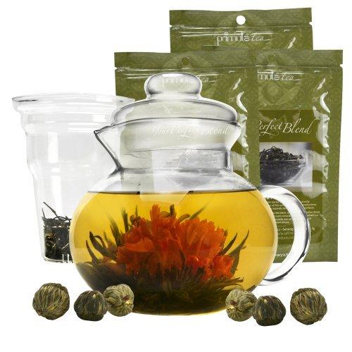 primula flowering tea gift set - 6