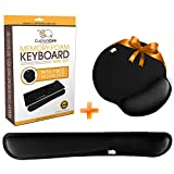 CushionCare Keyboard Wrist Rest Pad - Mouse Pad Included - Ergonomic Support
