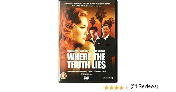 Where the Truth Lies [DVD] [Reino Unido]: Amazon.es: Colin Firth ...